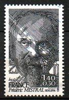 FRANCE. N°2098 Oblitéré De 1980. Prix Nobel De Littérature/F. Mistral. - Ecrivains