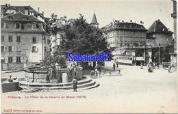 Fribourg - Le Tilleul De La Bataille De Morat - 1914 - Autres Communes