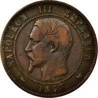 France, Jeton, Royal, Napoléon III, Visite à Lille, 1853, Barre, TB, Cuivre - France