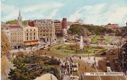 Postcard The Square Bournemouth PU 1965 Bright Sunshine Slogan Cancel My Ref  B12823 - Bournemouth (until 1972)
