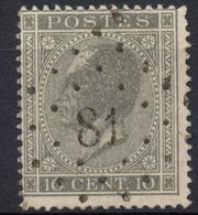 Nr.  17  :  Chièvres - Attre - 1865-1866 Linksprofil
