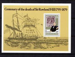 FALKLAND  ISLANDS   1979    Death  Centenary  Of  Sir  Rowland  Hill     Sheetlet       MNH - Falkland Islands