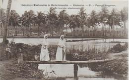 Inde - Catéchistes Missionnaires De Marie Immaculée - Hindoustan - Carte N°11 En Tournée Missionnaire Passage Dangereux - Inde
