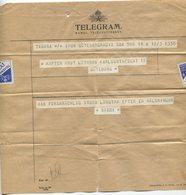 Telegram - Sweden, 1946 - Vieux Papiers
