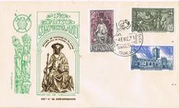 31206. Carta Exposicion IGUALADA (Barcelona) 1971. DON QUIJOTE, Año Santo - 1931-Hoy: 2ª República - ... Juan Carlos I