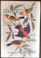 Anguilla 1985 Audubon Birds Minisheet MNH - Anguilla (1968-...)