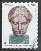 FRANCE 2017 JEANNE BARDEY OBLITERE - YT 5154 - - France