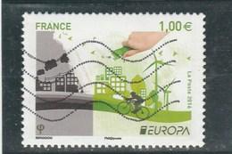 FRANCE 2016 EUROPA OBLITERE YT 5046 -- - France