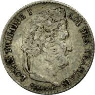 Monnaie, France, Louis-Philippe, 1/4 Franc, 1835, Paris, TB, Argent - France