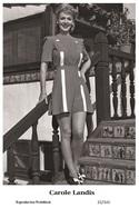 CAROLE LANDIS - Film Star Pin Up PHOTO POSTCARD - 22-141 Swiftsure Postcard - Artistas