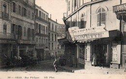 91Md   Algerie Oran Rue Philippe (vue Pas Courante) - Oran