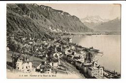 CPA - Carte Postale -Suisse-Vaud- Territet- Dent Du Midi-1913- S5004 - VD Vaud