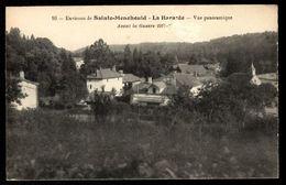 51 LA HARAZEE - Vue Panoramique - Environs De Sainte Ménéhould - Autres Communes