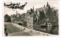 Brugge, Bruges, Zicht Op Rozenhoedkaai En Dijver (pk55011) - Brugge
