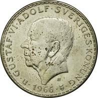 Monnaie, Suède, Gustaf VI, 5 Kronor, 1966, TB+, Argent, KM:839 - Suède
