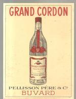 Buvard GRAND CORDON Eau De Vie PELISSON Père & C° - Liqueur & Bière