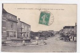 Marne - Sermaize-les-Bains - Place De L'Hôtel-de-Ville Et Rue De Vitry - Sermaize-les-Bains