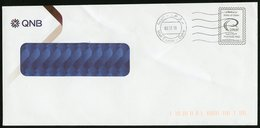 QATAR (2019). POSTAGE PAID Cover, Domestic Mail - Permission Number 2 - Mail Centre Doha - Qatar
