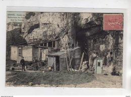 DIEPPE - Godes Ou Habitation Des Pêcheurs Dans Les Falaises - Très Bon état - Dieppe