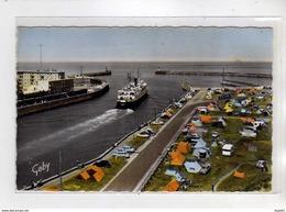 DIEPPE - L'Entrée Du Port Et Le Camping - Très Bon état - Dieppe