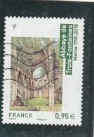 FRANCE 2018 ABBAYE DE TROIS FONTAINES OBLITERE YT 5242 - France