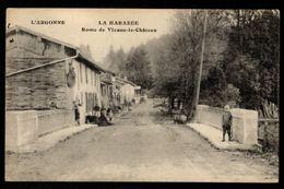 51 LA HARAZEE - Route De Vienne Le Château - Autres Communes