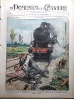 La Domenica Del Corriere 17 Aprile 1910 Tappeto Sacro Etna Michele Rua Mascagni - Books, Magazines, Comics