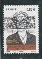 FRANCE 2017 NADIA BOULANGER OBLITERE - YT 5169 - France