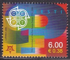 Estland 2006, 537, 50 Jahre Europamarken. MNH ** - Estonia
