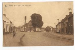 Nimy Route D'Ath Et Route De Bruxelles Carte Postale Ancienne Mons - Mons