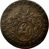 Allemagne, Médaille, 1739, TTB, Cuivre - Allemagne
