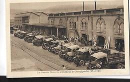 CHAMPIGNEULLES  GRANDES BRASSERIES  BIERE MALTERIES DE CHAMPIGNELLES N 36  CAMIONS PERSONNAGES   DEPT 54 - Francia