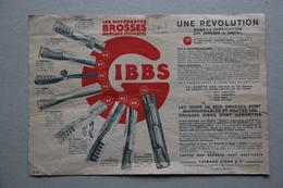 Publicité Brosses à Dents Gibbs Et Savon à Barbe Gibbs - Publicités