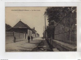 CHAUSSOY EPAGNY - La Rue D'Ailly - Très Bon état - France