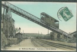 92 - Hauts-de-Seine - Bellevue-Meudon Funiculaire Et Gare - Meudon