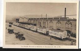 CHAMPIGNEULLES  GRANDES BRASSERIES  BIERE MALTERIES DE CHAMPIGNELLES WAGONS  PUB    DEPT 54 - Autres Communes