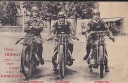 MOTOS---l'équipe TERROT--KERVOLINE--jacques DURAND--ROLLAND--PERROTIN--voir 2 Scans - Motos