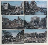 MESSINA SERIE DI 25 CARTOLINE TERREMOTO DEL 1908 - NV FP - Messina