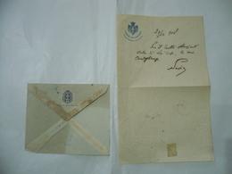 SENATO DEL REGNO CAMERA DEI DEPUTATI  BUSTA+LETTERA AUTOGRAFA DEPUTATO SOCIALISTA UMBERTO SAVIO 1918 - Autografi