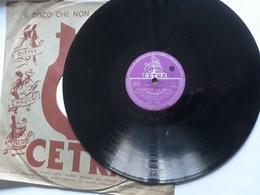 Cetra   -  1955.  Serie AC  Nr. 3086  -   Latilla, Boni, Cinico Angelini - 78 G - Dischi Per Fonografi