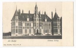 La Hulpe Château Solvay Carte Postale Ancienne - La Hulpe