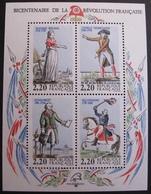 DF50478/34 - 1989 - BICENTENAIRE DE LA REVOLUTION FRANCAISE - BLOC NEUF** N°10 - Blocks & Kleinbögen