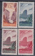 Réunion N° 270 / 73 X Partie De Série Courante, Les 4 Valeurs Trace De Charnière Sinon TB - Réunion (1852-1975)