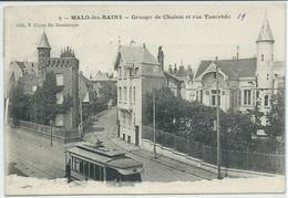 Malo Les Bains-Groupe De Chalets Et Rue Tancrède (CPA) - Malo Les Bains