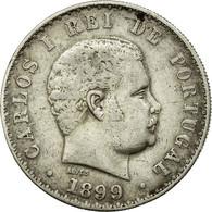Monnaie, Portugal, Carlos I, 500 Reis, 1899, TTB+, Argent, KM:535 - Portugal