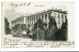CPA - Carte Postale -Suisse-St. Gall -Gruss Aus Ragaz-Hötel Quellenhof-1907- S5005-1 - SG St. Gall