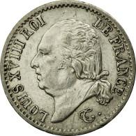 Monnaie, France, Louis XVIII, Louis XVIII, 1/4 Franc, 1820, Paris, TTB+, Argent - France