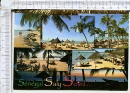 SENEGAL -  Plages Ensoleillées De   SALY -  5 Vues -    Jolis Timbres - Sénégal