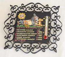 Wetter Barometer « Recuerdo De Ibiza » Baromètre Météo âne - Autres Collections