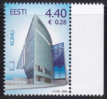 Estland 2006, 543, Eröffnung Des Estnischen Kunstmuseums, MNH ** - Estonia